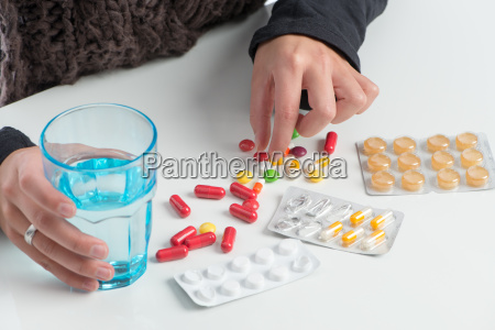wiele roznych lekow